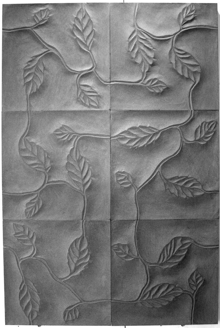 Kalkkikivi Leaf 3D